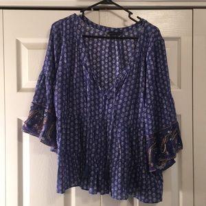 3/4 sleeve American Eagle shirt